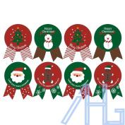 96X Snowman Tree Deer Christmas Sealing Stickers Gift Box Bags Envelope Decor