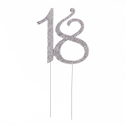 18 Cake Topper for 18th Birthday Number Party Supplies & Decoration Ideas