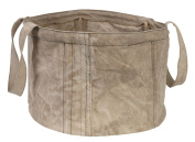 Colorique Laundry Storage Hamper L Vintage Canvas, Diameter 47 x 30 cm