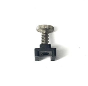 Bimini top black nylon Slide Rail Lock. For boat/Marine