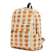 OUTERDO School Shoulder Backpack Travel Satchel Cute Gril Canvas School Rucksack Bag - 30x11x40cm