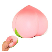 Squishy Red Peach Toy