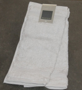Set of 2 Facecloths Zucchi SOLOTUO Plain 30 x 30 cm 100% Combed Cotton '620 gr/m² High Quality GRIGIO v.1700