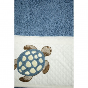 Gift Idea Embroidery Towel Set Owls Hearts Assorted Colours - Turtles Turtles, cartazucchero