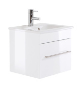 Villeroy & Boch Venticello 50 cm with 1 drawer White High-Gloss