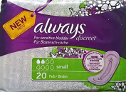 Always Discreet Small Pads - 6 x 20