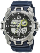 Armitron Sport Men's 20/5157NVY Analogue-Digital Chronograph Navy Blue Resin Strap Watch