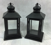 Link Products Lantern Metal & Glass
