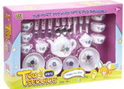1 X Children's Gift Toy Tea Party or Coffee Play Sets Flower Design