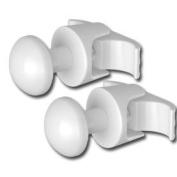 Couple of Handy Grip - Pegs for column radiators - White