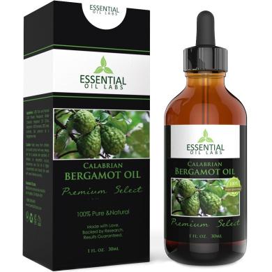 Essential Oil Labs Bergamot Oil - 30ml with dropper