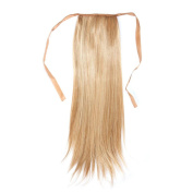 Alonea Full Head Women Clip Synthetic High Temperature Wire Straight Hair Piece