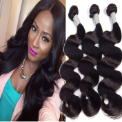 Lemoda Body Wave Brazilian Virgin Hair 3Bundles 100% Unprocessed Human Hair