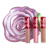 Lime Crime Velve-tins Liquid Matte Lipstick Mini Holiday Velvetine Trios