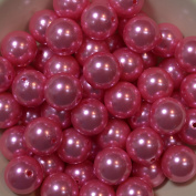 20mm Bulk package 50 Pink Faux Pearl Solid Acrylic Chunky Bubblegum Beads Loose Gumball Beads Lot