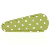 Inazuma Small Embroidery Scissor Sheath - Green with White Polka Dots