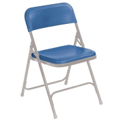 National Public Seating Premium Lightweight Blow Moulded Folding Chair - 4 Pack