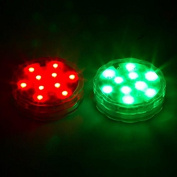LED Lights for Disc Golf Basket - Set of 2 Remote Controlled By Trademark Innovations