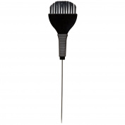 Hair Tamer Tint Brush with Metal Pin Tail & Rubber Grip