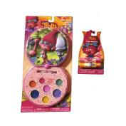 Kids Lipgloss. Lipgloss Set for Little Girls with Lip Balm Bundle - Cartoon Themed (Trolls, Frozen and Finding Dory)