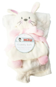 Cuddly Soft Baby Blanket With Buddy 80cm x 90cm by Nuby