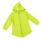 Gloous Children's Kid Baby Outerwear Jacket Dinosaur Style Hooded Headwear Coat Clothes