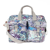 Kipling New Baby Bag with Changing Mat Marble Multi