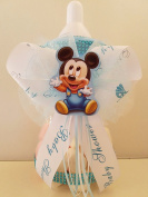 Mickey Mouse Centrepiece Bottle Large 30cm Baby Shower Piggy Bank Boy Decoration