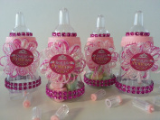 12 Fillable Bottles Real Life Princess Baby Shower Favours Prizes~Girl Decoration