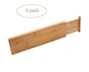 YBM Home & Kitchen Bamboo Deep Kitchen Drawer Dividers 328-2