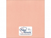 Accent Design Paper Accents ADP1212-25.6171 No.80 30cm x 30cm Peach Sorbet Textured Card Stock
