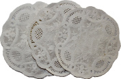 SET OF 12 WHITE WEDDING PARTY OR PARTY DECORATION DOILIES