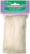 Brand New Natural Wool Roving .90ml-Off White Brand New