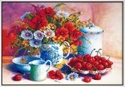 Starlit 71528 - Summer Flower DIY Diamond Painting Rhinestone Embroidery Kit Size 71x50 cm