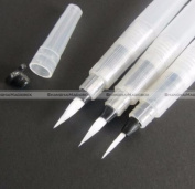 3pcs Pilot Ink Pen for Water Brush Watercolour Calligraphy Painting Tool Set