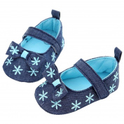 MOONHOUSE New Cute Newborn Infant Kids Girl Soft Sole Crib Shoes