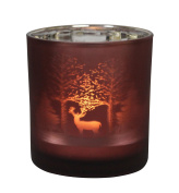 Table Tech Redwood Glass Votive Candle Holder