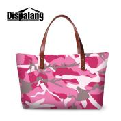 Generic Camouflag Printed Series Big Shoulder HandBags for Women Girls Casual Tote Bags Beach Bags