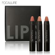 Creazy Long-lasting Red Velvet Matte Colour Pencil Lipstick Crayon Makeup Set