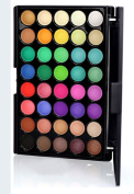 Leslie Li 40 Eye Shadow Matte and Shimmer Bright Make Up Cosmetic Palette 201-BC