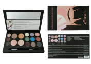 Cameo Cosmetics Eyes & Face Contouring Kit, Light Colours - A 3 Palettes-In-One Makeup Kit With 16 Bestselling Shades - Step by Step Instructions Included