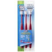 HartFelt Super Soft 360 Toothbrush (3 Count)-–For cancer patients with compromised oral health