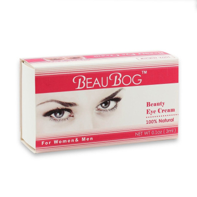 BeauBog Beauty Magic Eye Cream Works in Two Minutes For Dark Circles and Puffiness, Smooths Lines and Wrinkles, Anti-Ageing