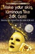 TOSOWOONG 24k gold bird's nest aqua mask (5sheets) / Health & Beauty / Skin Care / Moisturisers / Mask sheet / essence mask / korean beauty cosmetic