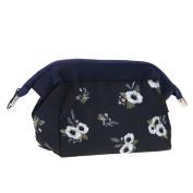 WinnerEco Cosmetic Bag Female Zipper Makeup Storage Case Pouch for Travel Kit Organiser