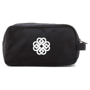 Breaking Benjamin Canvas Dual Two Compartment Travel Toiletry Dopp Kit Bag