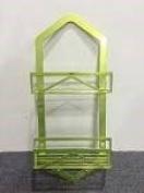 HoHo House Bathroom Storage Rack (Triangle-Trapezoid), Green - 70cm