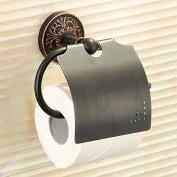 LINA@ European retro- . black bronze copper bathroom Towel rack