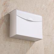 LINA@ European-style space aluminium sealed bathroom toilet paper tray