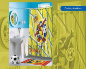 Oficial Shower Curtain America Yellow